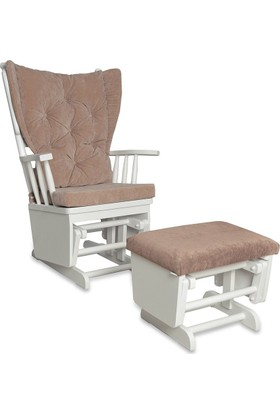 Moon Design Teksas Puflu Sallanan Sandalye