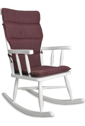 Moon Design Teksas Torna Ceviz Sallanan Sandalye