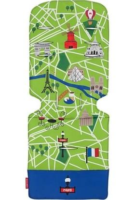 Maclaren Universal Liner Paris City Map İç Ped