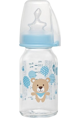 Nip Wide Neck Bottle 125 ml Antikolik Cam Biberon Erkek