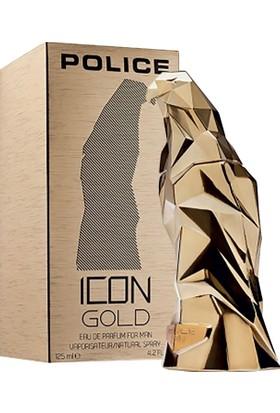 Police İcon Gold Edp Erkek - 125 ml