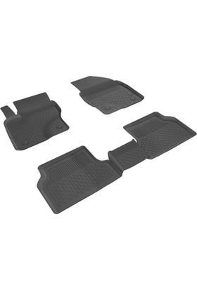 Sahler Ford Focus 2 2005-2010 İçin 4.5D Özel Havuzlu Paspas Siyah