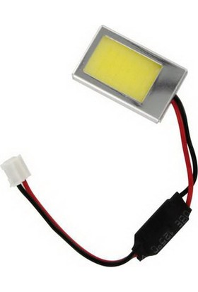 Lampa Cob Mega-Led 18 Chips 1,2W Beyaz 26x16mm 57923