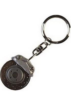 Bottari Disk Anahtarlık Siyah 13393