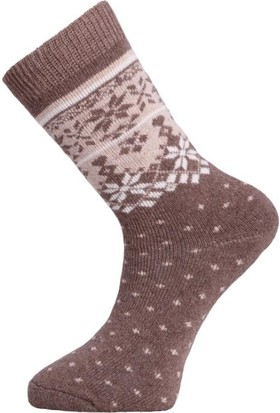 Panthzer Casual Wool Erkek Çorap Bej Bej
