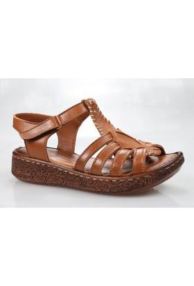 Legend 3201 Kadın Deri Günlük Sandalet