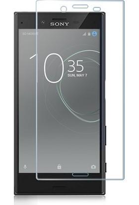 CoverZone Sony Xperia XA1 3D Tam Kaplayan Cam Şeffaf
