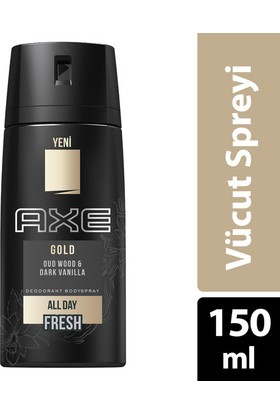 Axe Deodorant Sprey Gold 150 ml