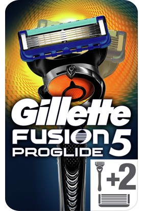 Gillette Fusion ProGlide FlexBall Tıraş Makinesi Yedekli