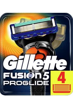 Gillette Fusion ProGlide Yedek Tıraş Bıçağı 4'lü