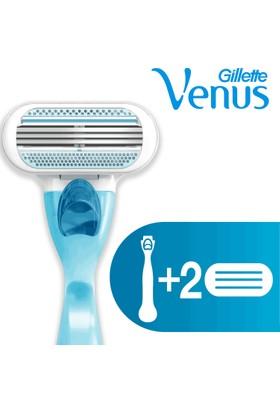 Gillette Venus Tıraş Makinesi + 4 Yedek Tıraş Bıçağı