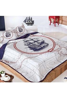 Yatsan Maison Yatak Örtüsü Explorer Çift Kişilik 260x260 Desenli