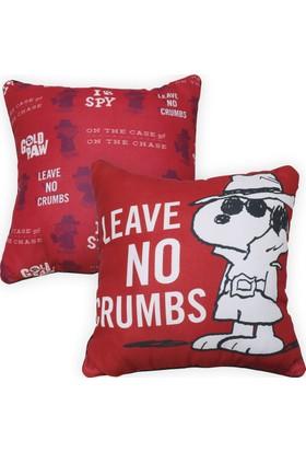 Peanuts Snoopy Crumbs Baskılı Yastık