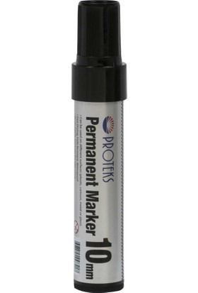 Proteks 10Mm Jumbo Koli Kalemi (Permanent Marker) Pr-100 Siyah