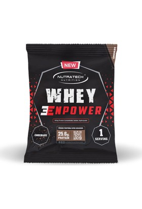 Nutratech Nutrition Whey Enpower ® - 28 Adet X 33gr Tek Kullanımlık Paket - Çikolata