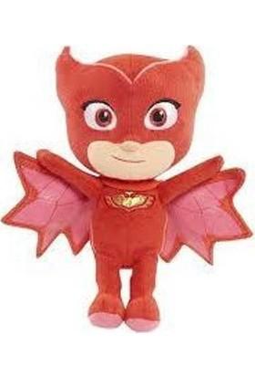 Candy Oyuncak Pijamaskeliler Peluş Oyuncak Baykuş Kız 20 cm