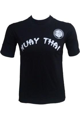 Evox Muay Thai Tişörtü Siyah