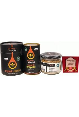 Umay Herbal Propolis, Arı Sütü, Polen Setli ve Esterya Plus Çilek Sabunu