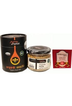 Umay Herbal Arı Sütü ve Polen Setli , Esterya Plus Çilek Sabunu