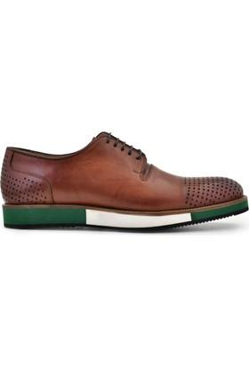 Nevzat Onay Bağcıklı Kahverengi Günlük Deri Erkek Ayakkabı
