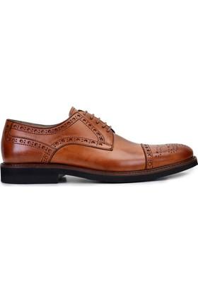 Nevzat OnayBağcıklıSafran Rengi Günlük Deri Erkek Ayakkabı
