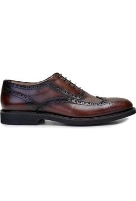 Nevzat OnayBağcıklıKahverengi Günlük Deri Erkek Ayakkabı