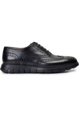Nevzat OnayBağcıklıSiyah Günlük Deri Erkek Ayakkabı