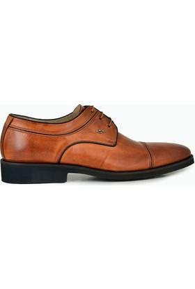 Nevzat Onay Bağcıklı Safran Rengi Günlük Deri Erkek Ayakkabı