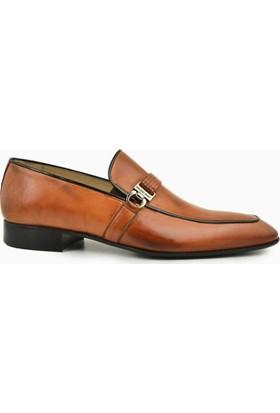 Nevzat Onay Safran Deri Kösele Erkek Ayakkabı