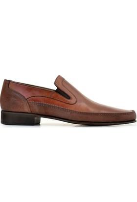 Nevzat Onay Antik Koyu Safran 213 - Chi Bsk Kahverengi 672 Erkek Ayakkabı