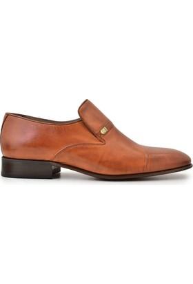 Nevzat Onay Bağcıksız Safran Deri Günlük Erkek Ayakkabı
