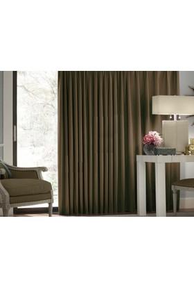 Evsa Home Blackout Karartma Güneşlik Perde Pilesiz V - 13 Toprak - 100x220 cm