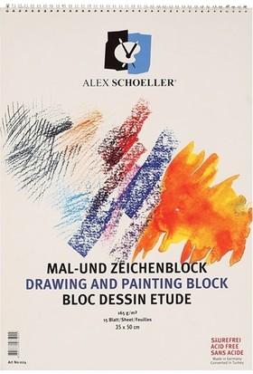Alex Resim Defteri 35X50 Spr. 165 Gr 15 Yp.