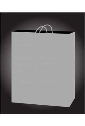 Kikajoy 50 Adet Gümüş Karton Çanta 11 cm * 11 cm