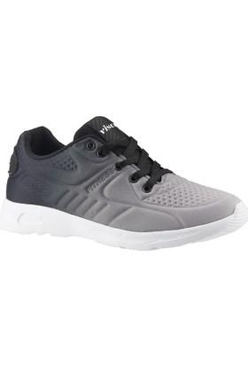 Viscon 103 Buz-Siyah Günlük Yürüyüş Bayan/Erkek Spor Ayakkabı