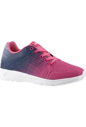 Viscon 103 Fuşya-Lacivert Günlük Yürüyüş Bayan Spor Ayakkabı