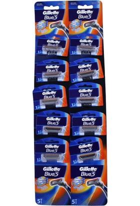 Gillette Kartela Blue 3 10Lu