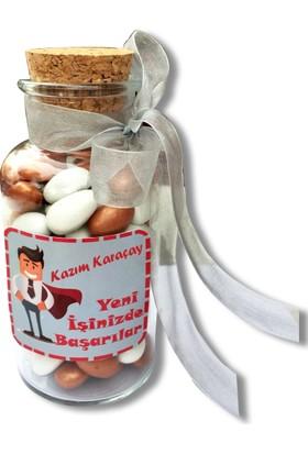 Gondol Çikolata İsme Özel Yeni İş Çikolatası (Erkek)