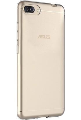 Microsonic Asus Zenfone 4 Max (5.2'') ZC520KL Kılıf Transparent Soft Beyaz