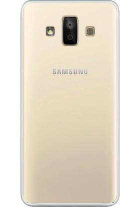Microsonic Samsung Galaxy J7 Duo Kılıf Transparent Soft Beyaz