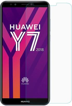 Microsonic Huawei Y7 2018 Temperli Cam Ekran Koruyucu Film
