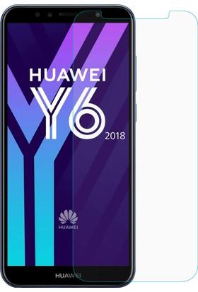 Microsonic Huawei Y6 2018 Temperli Cam Ekran Koruyucu Film
