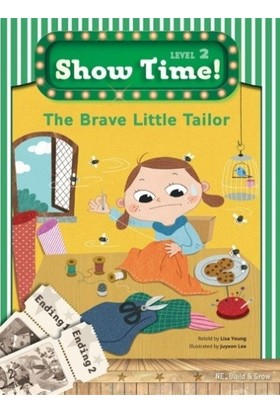 The Brave Little Tailor +Workbook +Multirom (show Time Level 2) - Lisa Young