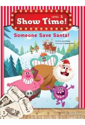 : someone save santa! +Workbook +Multirom (show Time Level 1) - Lisa Young