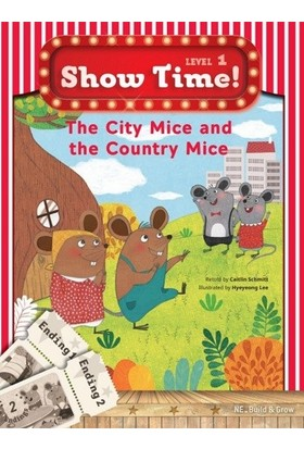 The City Mice And The Country Mice +Workbook +Multirom (show Time Level 1) - Caitlin schmitt