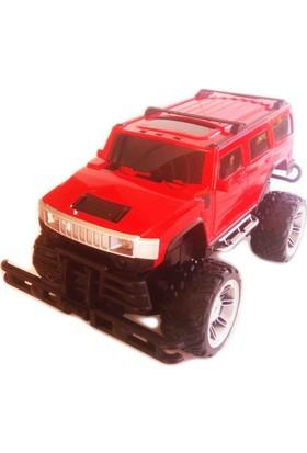 Erd Rc Uzaktan Kumandalı Jeep 1:144X4 Arazi Aracı Pick-Up Kırmızı