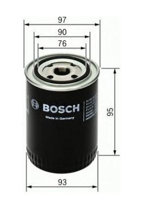 Bosch Ford Transit Connect 1.8 Tdi 2002-2011 Yağ Filtresi