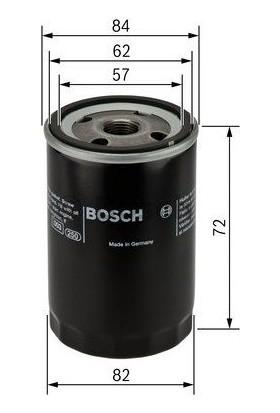 Bosch Hyundai Getz, Accent, Elantra Benzinli Araçlar İçin Yağ Filtresi