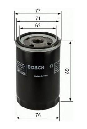 Bosch Opel Astra, Vectra Benzinli Modeller Yağ Filtresi