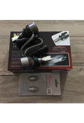 Niken Evo Serisi Hb3 9005 Led Xenon 8000Lm + T10 Dipsiz Led Ampül